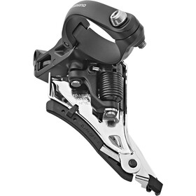 Shimano Deore XT FD-M8100 Voorderailleur 2x12 Side Swing Mid Clamp Front-Pull, black